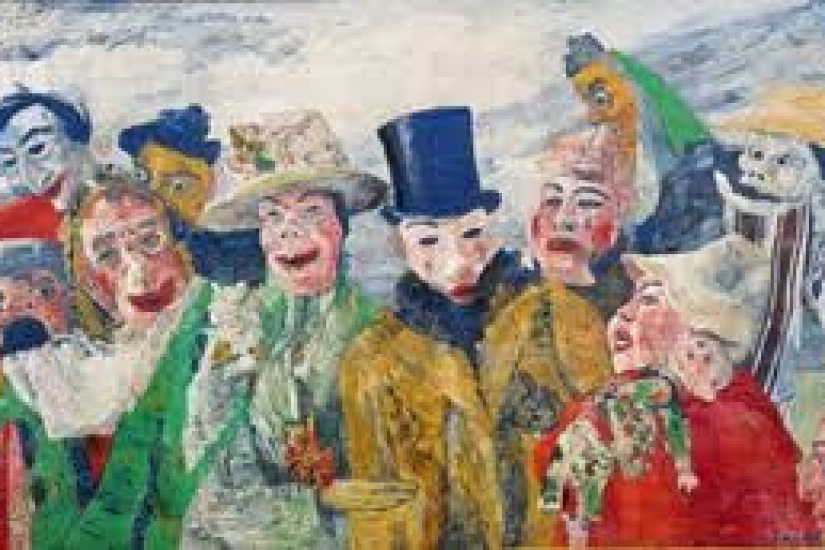 Les ensortilèges de James Ensor