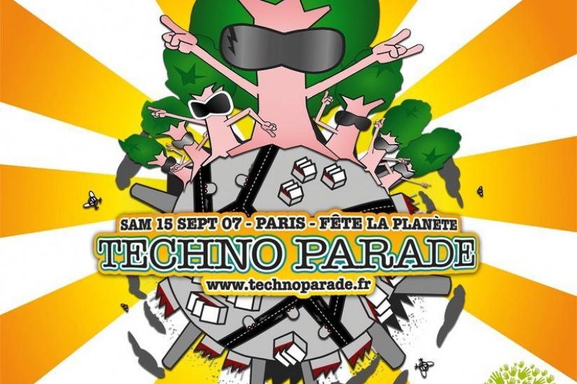 Affiche Techno parade 2007