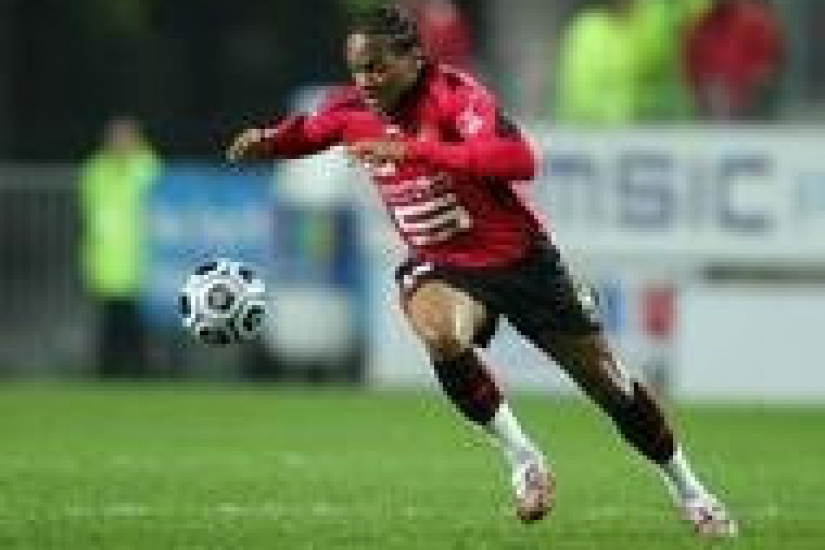 Jimmy BRIAND - Rennes /PSGParisSaintGermain - L1 Ligue 1 - 18.03.2007 - foot football - largeur action