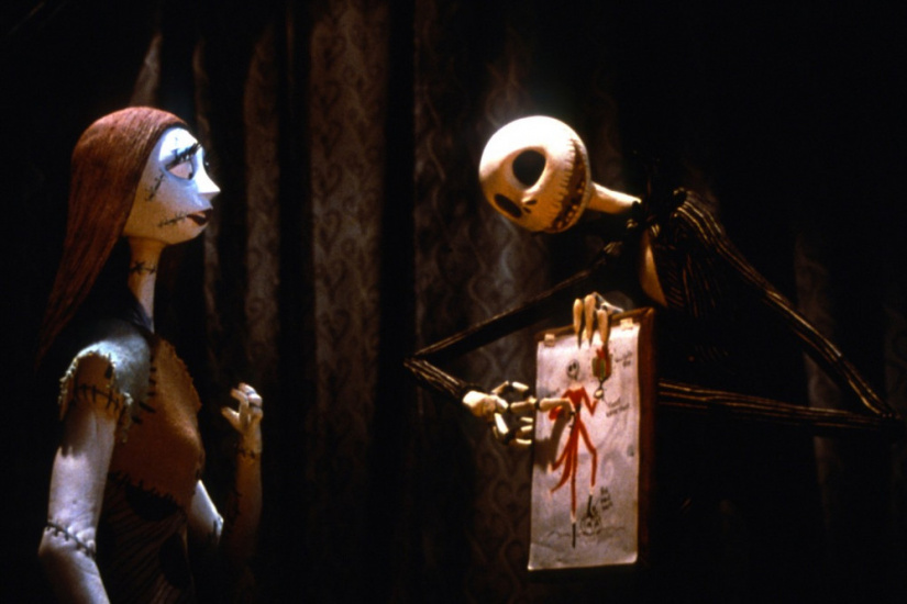 Tim Burton's The Nightmare Before Christmas. 1993. Directed by Henry Selick. Touchstone Pictures/Photofest. © Touchstone Pictures