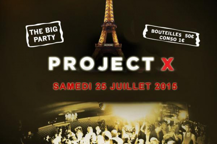 PROJET X THE BIG PARTY CONSOS 1€