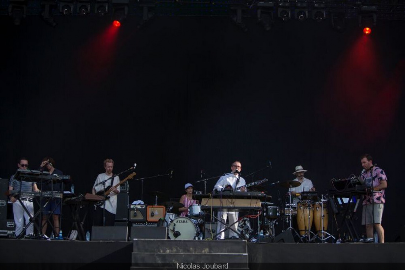 Rock en Seine 2015 - Hot Chip