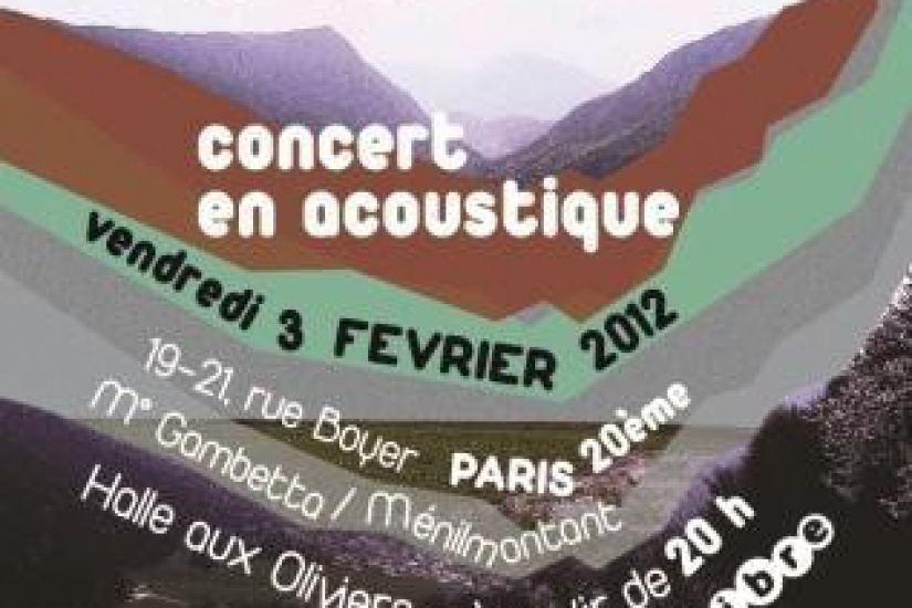 Concert acoustique Old Mountain and Chocolate