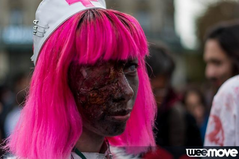 Zombie Walk 2014 à Paris