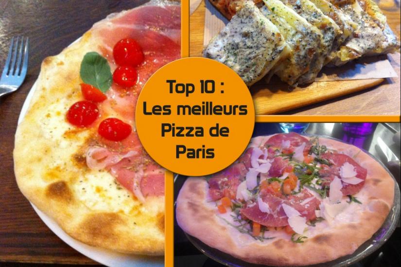 meilleurs pizza paris