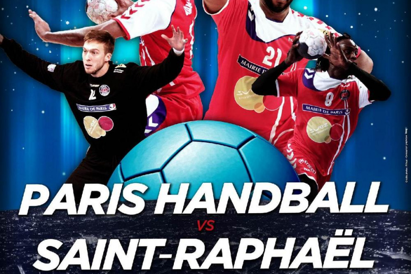 PARIS HANDBALL - SAINT RAPHAEL Championnat de France de Handball