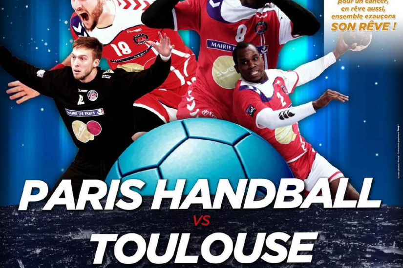 PARIS HANDBALL - TOULOUSE Championnat de France de Handball