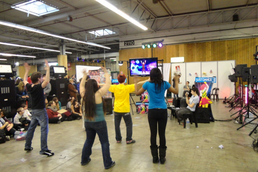 Paris Manga & Sci-Fi Show 2012, Just Dance