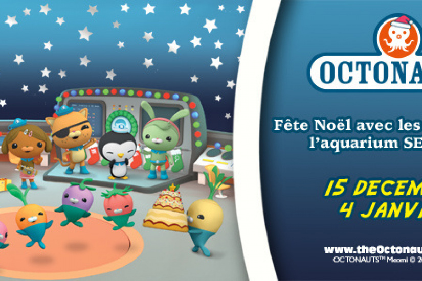 Vacances de Noël à l'Aquarium Sea Life