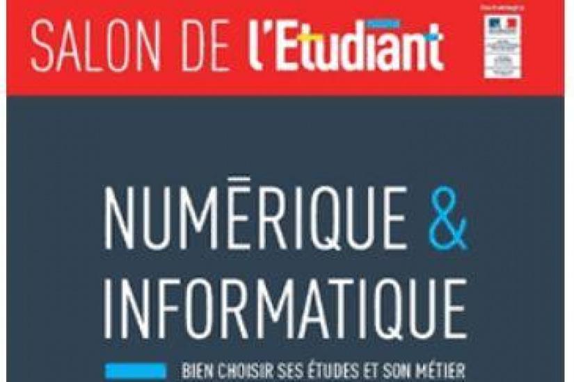 Salon de l 39 etudiant num rique et informatique 2018 for Salon de l invention paris