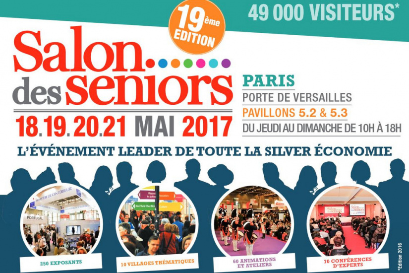 Le salon des s niors 2017 paris for Salon de la mode paris 2017