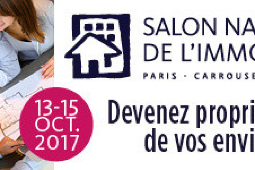 Le salon de l 39 immobilier 2017 paris for Salon de paris 2017