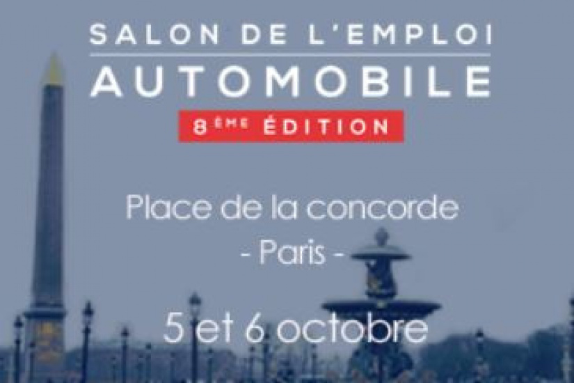 Salon de l emploi automobile 2017 for Salon de l emploi paris