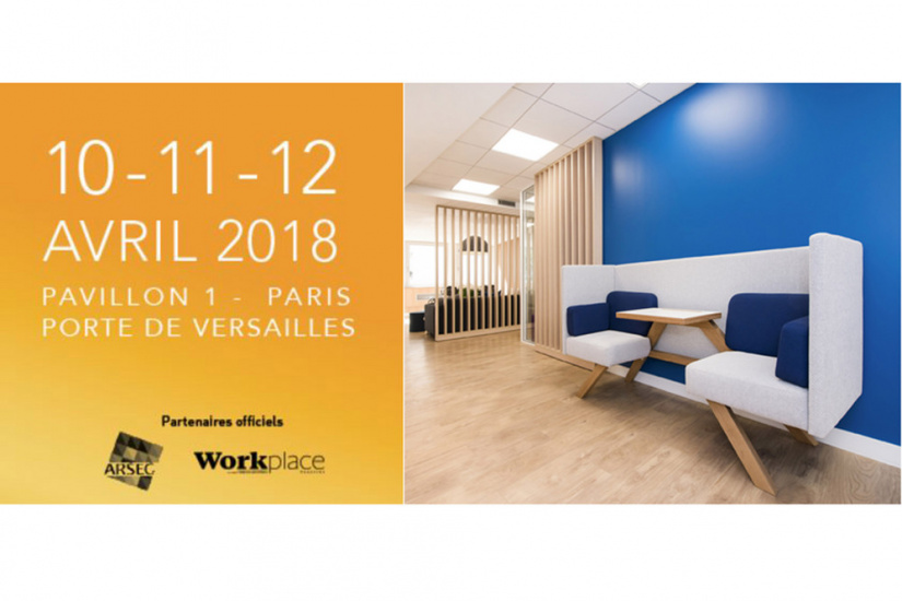 Salon Workspace Expo 2018 à La Porte De Versailles
