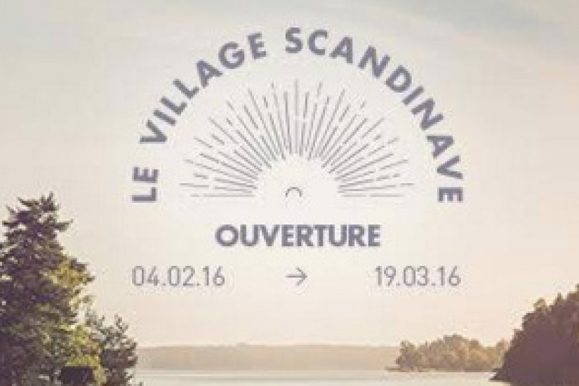 Le Nuba transformé en Village Scandinave