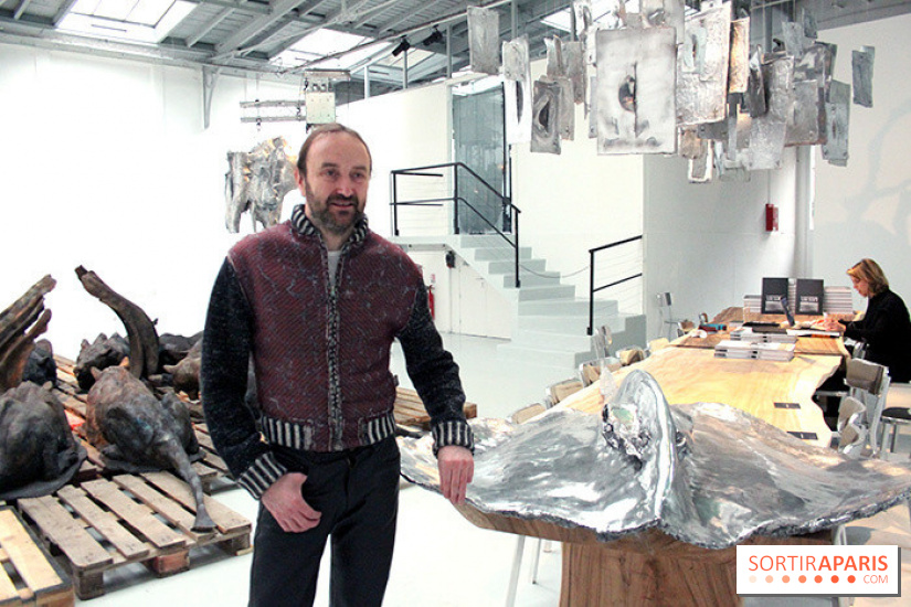 le chocolatier patrick roger expose chez christie s. Black Bedroom Furniture Sets. Home Design Ideas