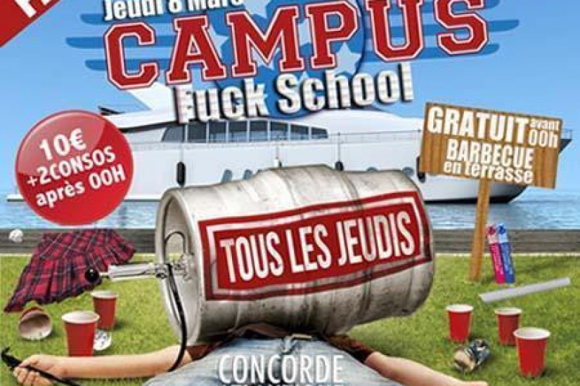 Campus - Fuck School