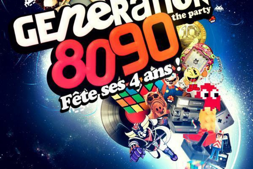 GENERATION 80-90 # BIRTHDAY PARTY