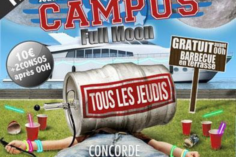 CAMPUS - FULL MOON PARTY