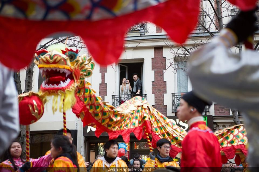 Photos du Nouvel an Chinois 2016 à Paris