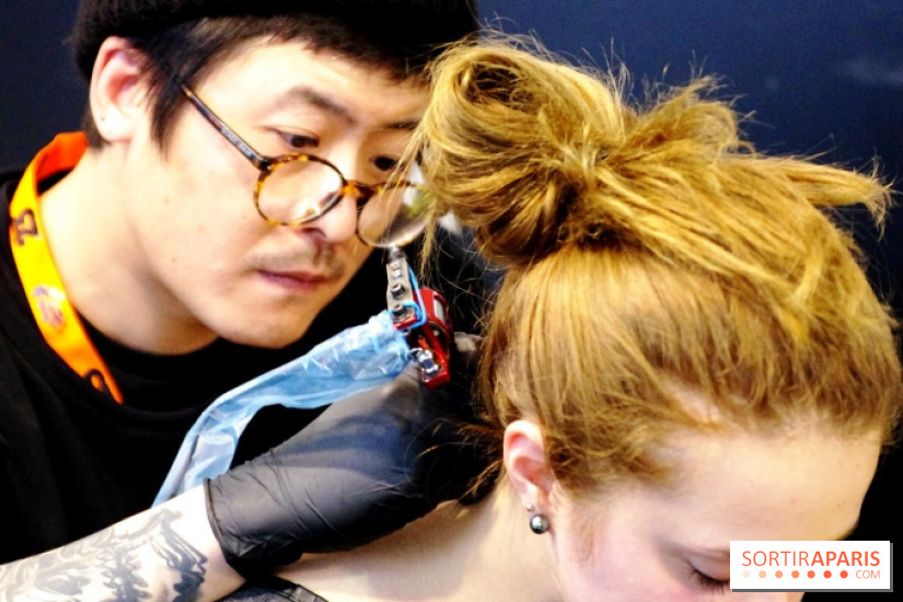 Le Mondial du Tatouage 2016 à Paris