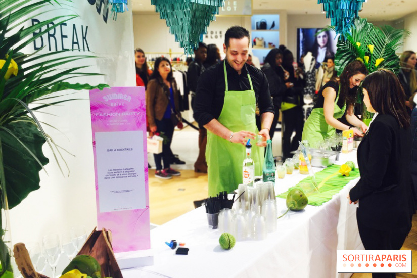Mojitos - Afterwork des Galeries Lafayette pour le Summer Break