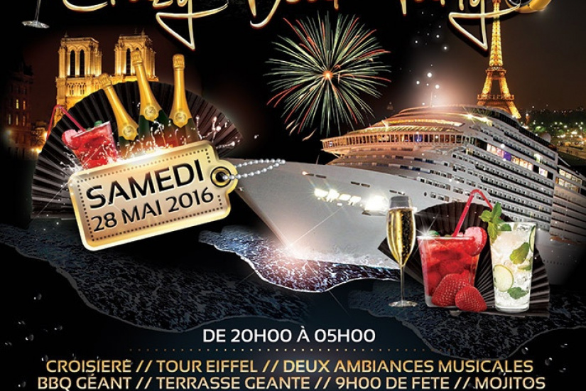 CRAZY BOAT PARTY (croisiere)