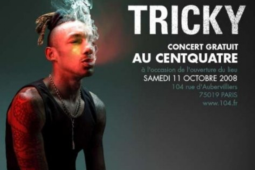 Inauguration, 104, Paris, Culture, Musique, Exposition, Tricky