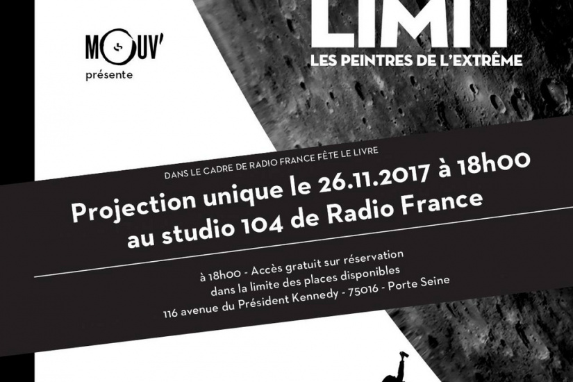 Projection du docu de street-art Sky's the limit à la Maison de la Radio