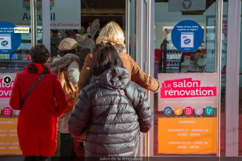 Salon de la r novation 2018 la porte de versailles for Porte de versailles salon emmaus