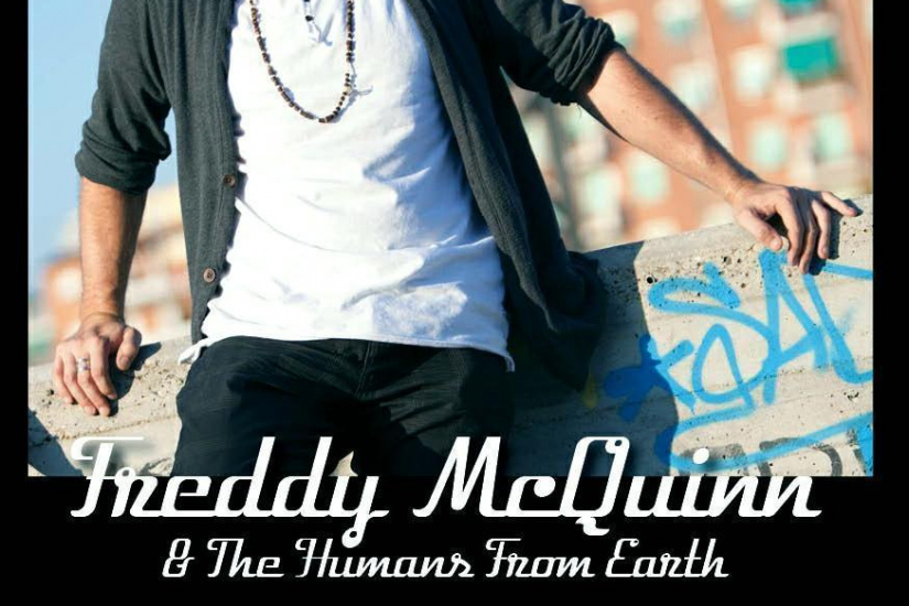 Freddy McQuinn & The Humans From Earth Concert