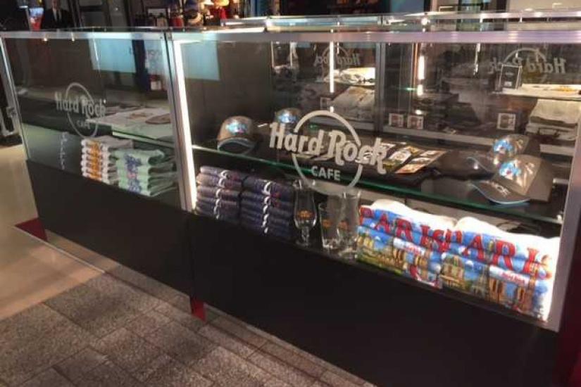 Magasin Hard Rock Cafe Paris