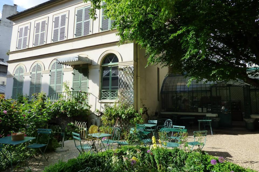 Fermeture temporaire du mus e de la vie romantique - Musee de la vie romantique salon de the ...