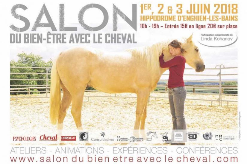 Salon du bien tre avec le cheval enghien les bains for Salon du cheval paris 2018