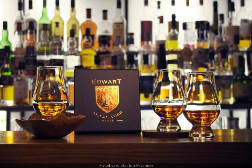 Golden Promise, le bar à whisky façon Speakeasy à Paris