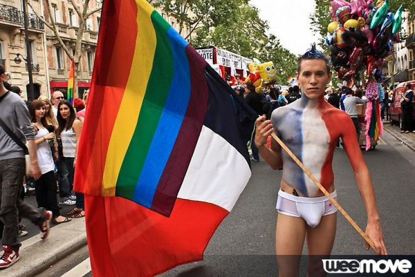 Gay pride date paris