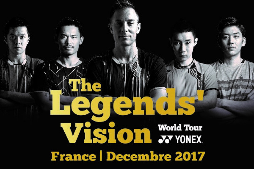 The Legends Vision World Tour By Yonex
