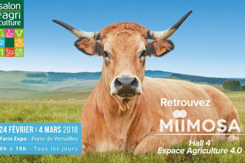Miimosa au salon de l 39 agriculture 2018 for Salon l agriculture