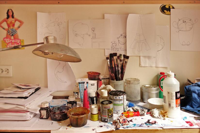 portes ouverts de l 39 atelier parisien de l 39 artiste j r mie baldocchi. Black Bedroom Furniture Sets. Home Design Ideas