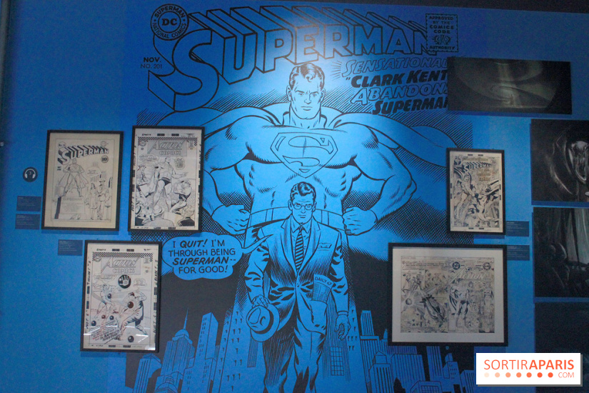 L'Art de DC Comics au Musée Art Ludique - planches Superman
