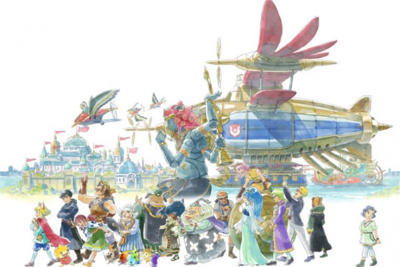 Ni No Kuni, l'exposition à la French Paper Gallery