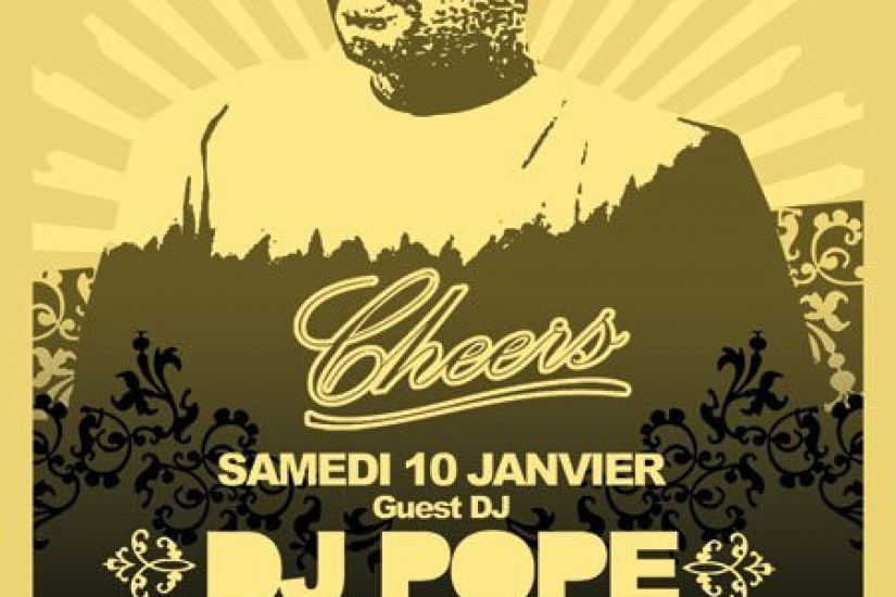 Soirée, Paris, Cheers, Dj Pope, Greg Gauthier, Sven Löve, Djoon