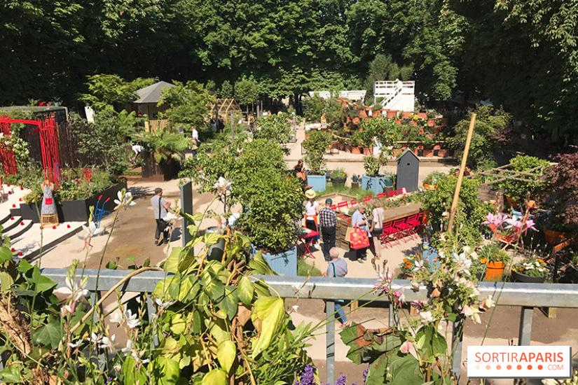 Jardins jardin 2018 aux tuileries - Jardin des tuileries restaurant ...