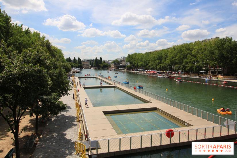 La baignade gratuite du bassin de la villette avec ses 3 for Bassin de baignade