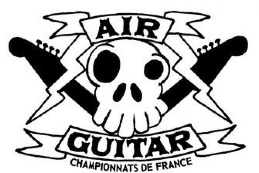 Air Guitar, Flèche d'Or, Paris, Concert, Championnat