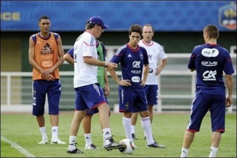Laurent Blanc évoque Hoarau