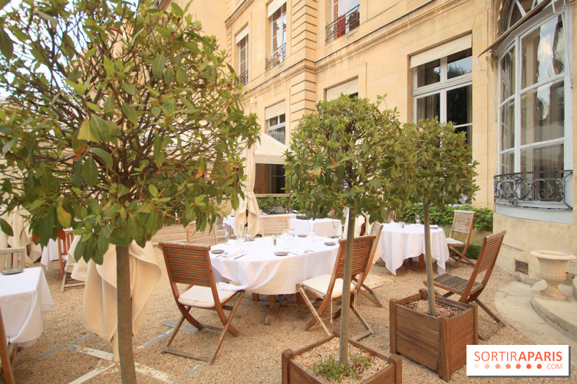 D ner dans les jardins de la maison de l 39 am rique latine for Restaurant dans jardin paris