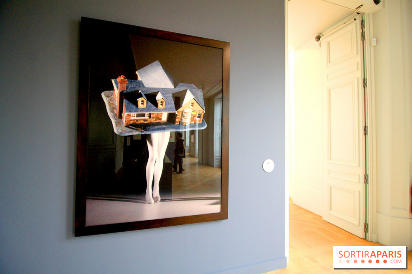 Women House à la Monnaie de Paris - Laurie Simmons, Walking House, 1989