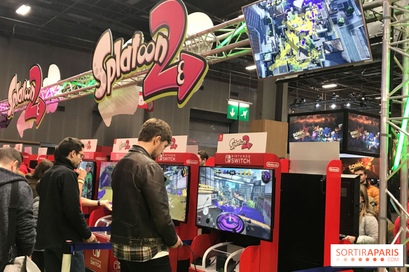 Paris games week 2018 la porte de versailles for Salon a paris ce weekend