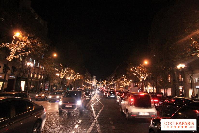 Paris faubourg st honor christmas lights 2017 with - Illumination noel paris 2017 ...
